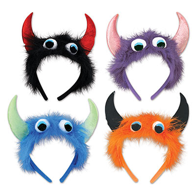 Monster Headbands (Pack of 12) .