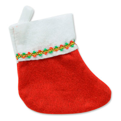 Mini Christmas Stockings (Pack of 12) .