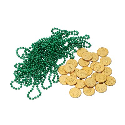 Leprechaun Loot (Pack of 12) .