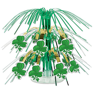 Shamrock Mini Cascade Centerpiece (Pack of 12) .