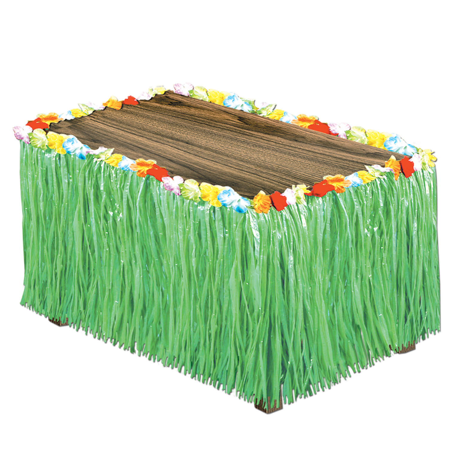 Artificial Grass Table Skirting (Pack of 6) .