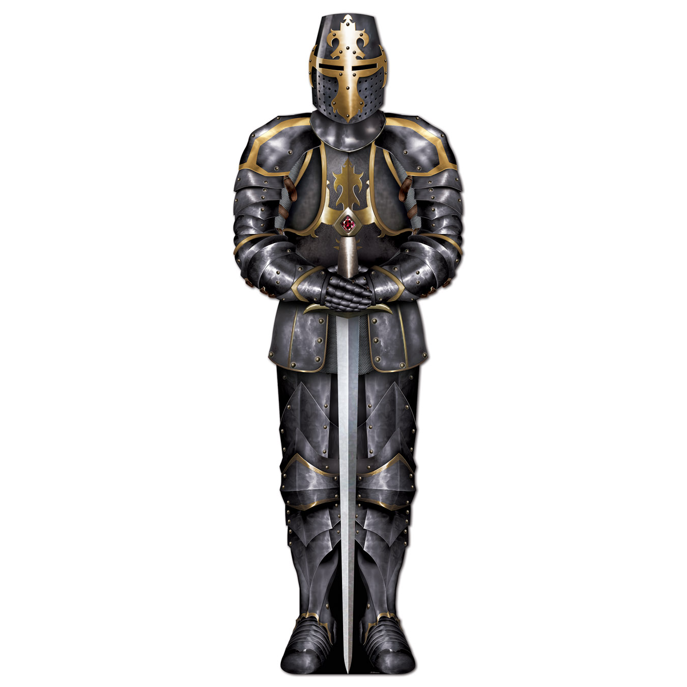 Jointed Black Knight (Pack of 12) Jointed Black Knight, decoration, medieval, knight, new years eve, halloween, wholesale, inexpensive, bulk