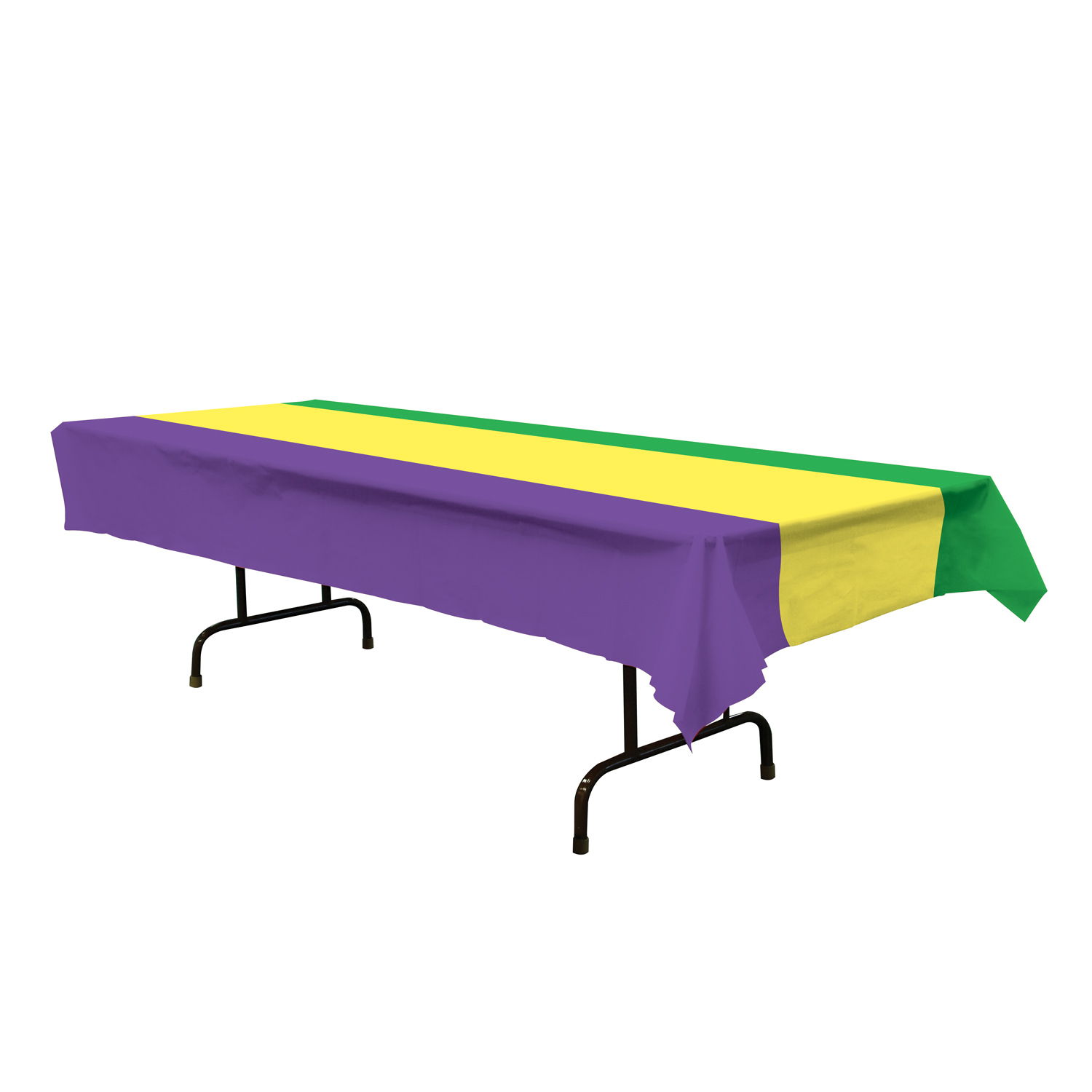 Mardi Gras Tablecover (Pack of 12) .