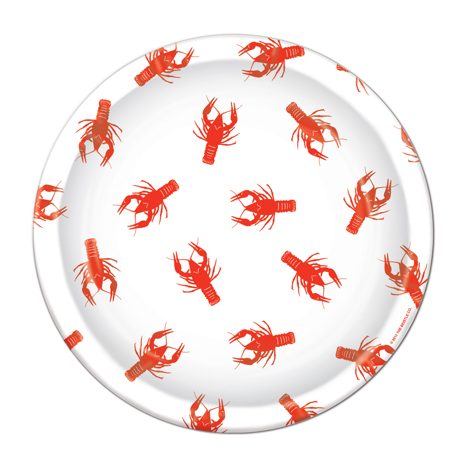Crawfish Plates (Pack of 96) .