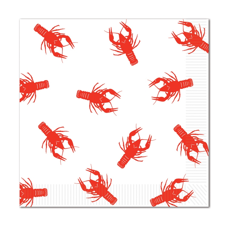 Crawfish Luncheon Napkins (Pack of 192) .