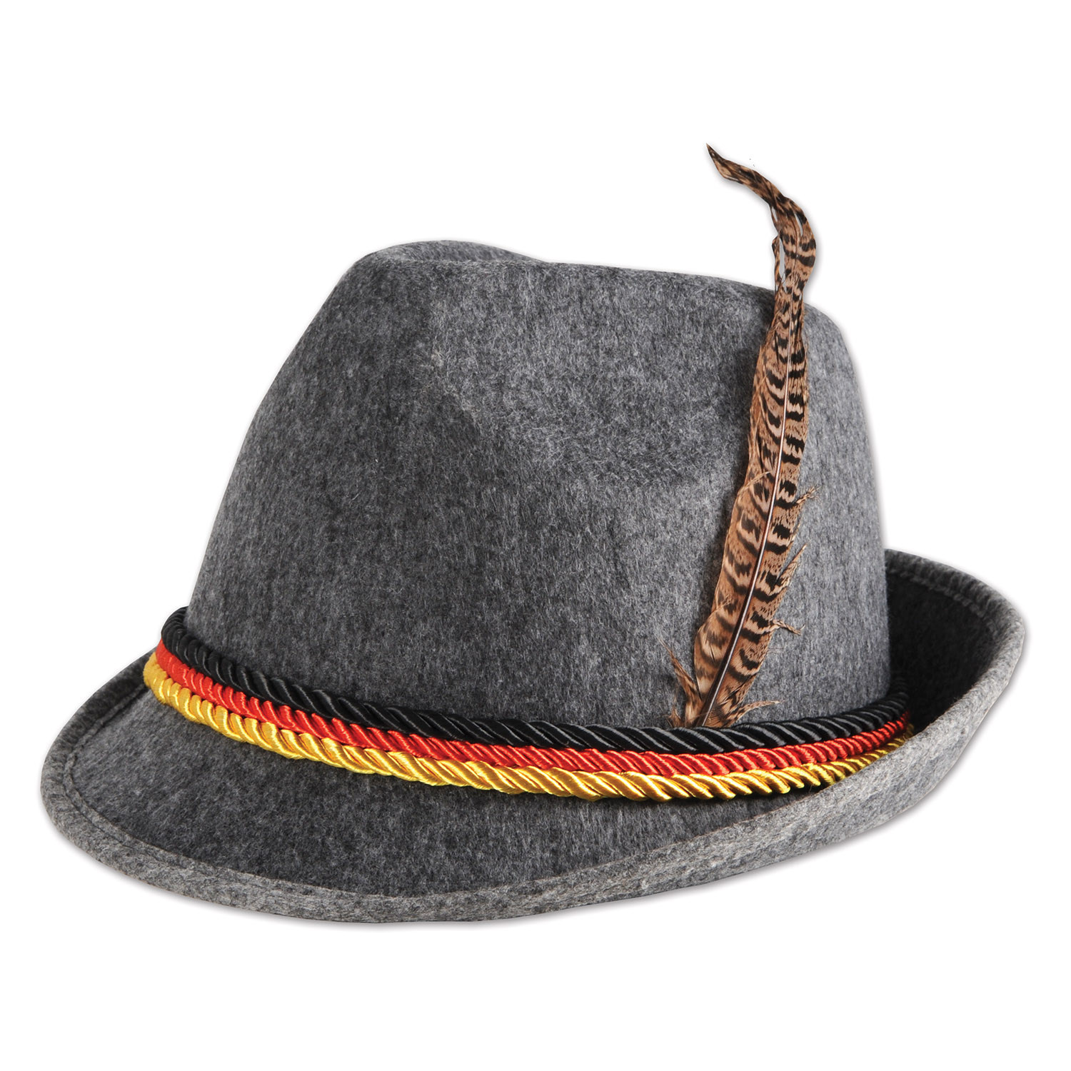 German Alpine Hat (Pack of 6) Alpine Hat, German Hat, Felt Hats, Oktoberfest favors, Party Favors, Inexpensive party supplies, Wholesale party goods