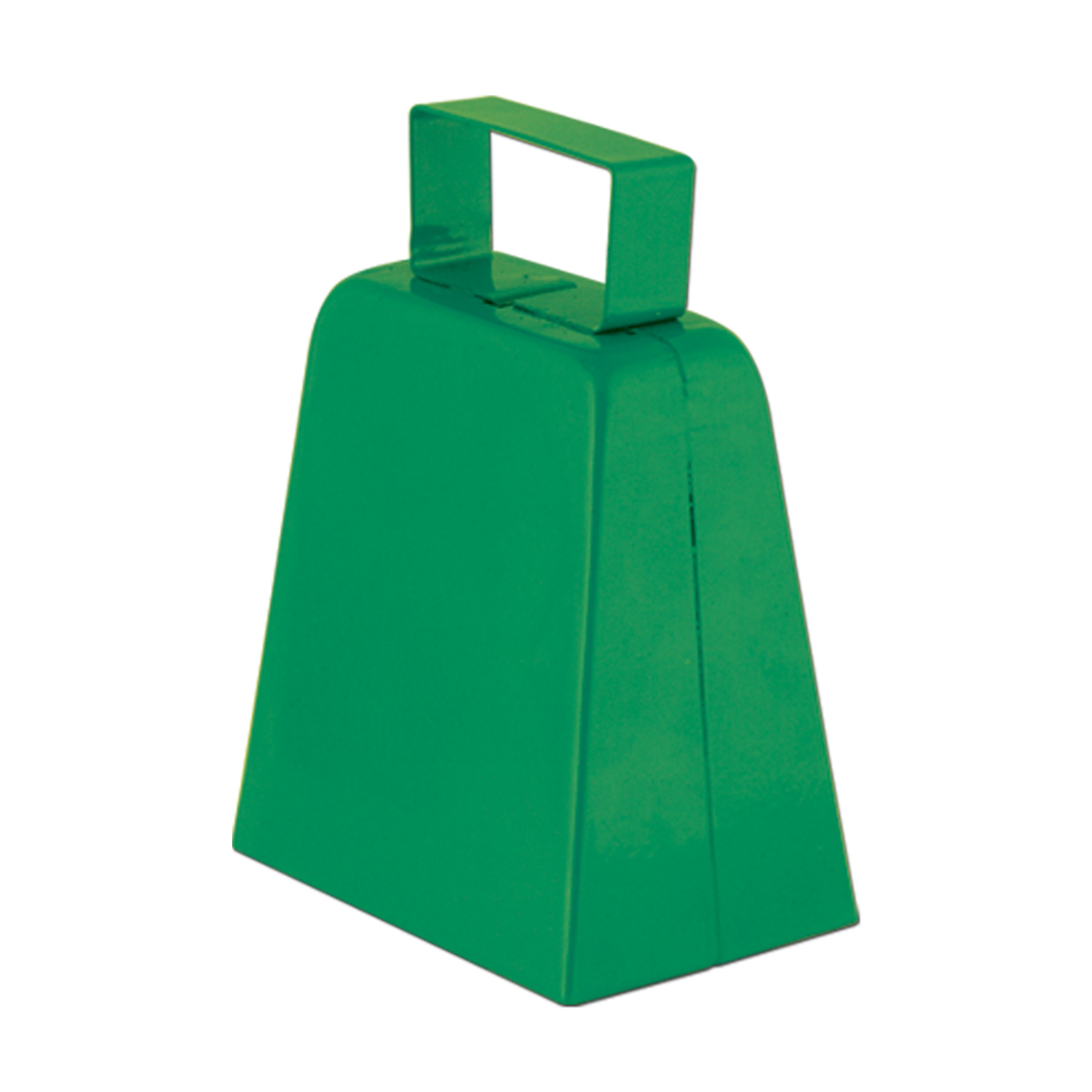 Cowbells (Pack of 12) green, cowbell, noisemaker, football, party, playoffs, superbowl, tailgating,