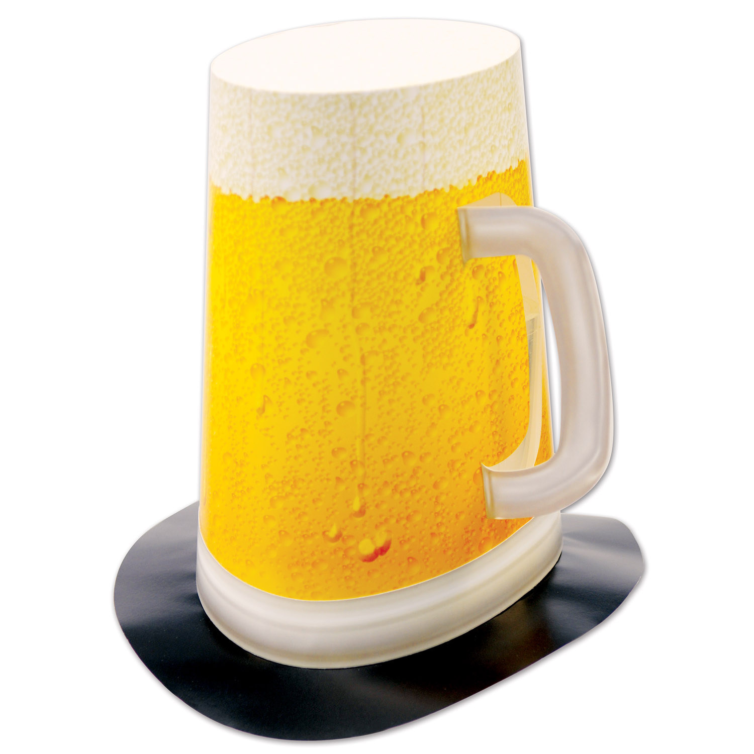 Beer Mug Super Hi-Hat (Pack of 12) Beer Mug Super Hi-Hat, party favor, new years eve, oktoberfest, st. patricks day, wholesale, inexpensive, bulk