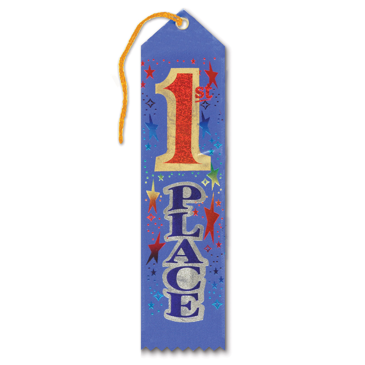 1st Place Award Ribbon (Pack of 6) 1st place, award, ribbon, first place, number one, #1
