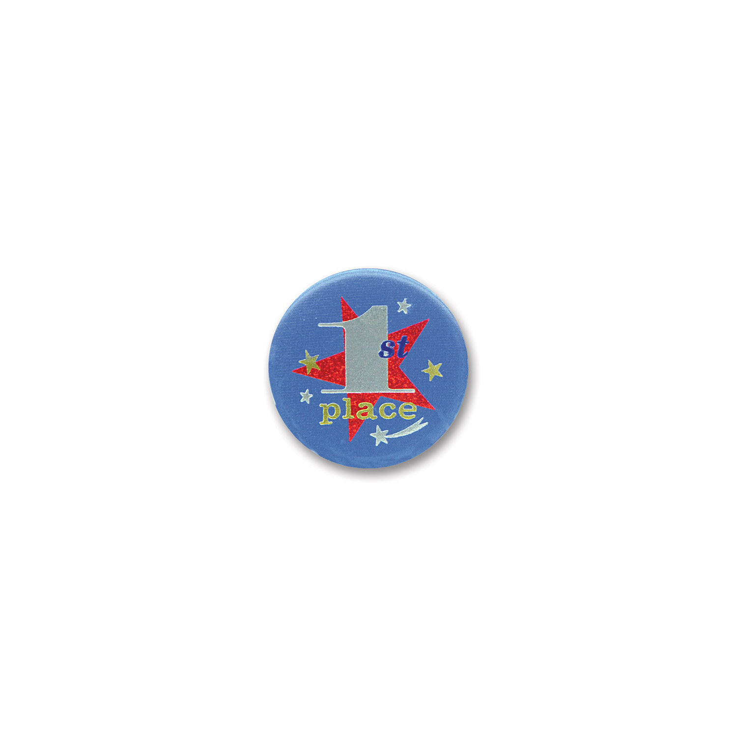 1st Place Satin Button (Pack of 6) Satin Button, 1st Place, Award button, Cheap award, Wholesale party supplies, Inexpensive reward, Sports award, Bulk buttons