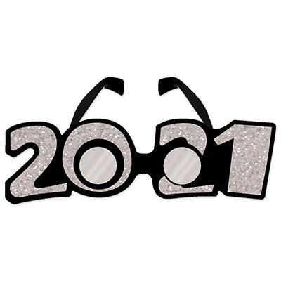 2021 glittered plastic eyeglasses party express