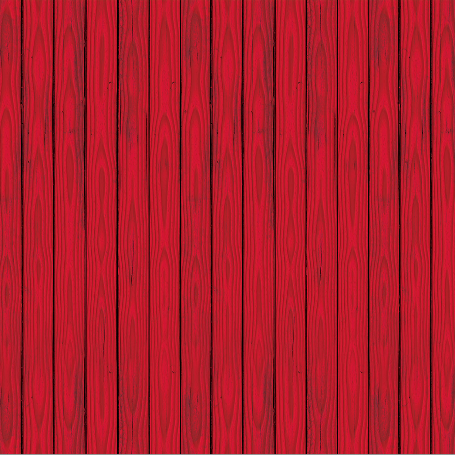 Red Barn Siding Backdrop (Pack of 6)