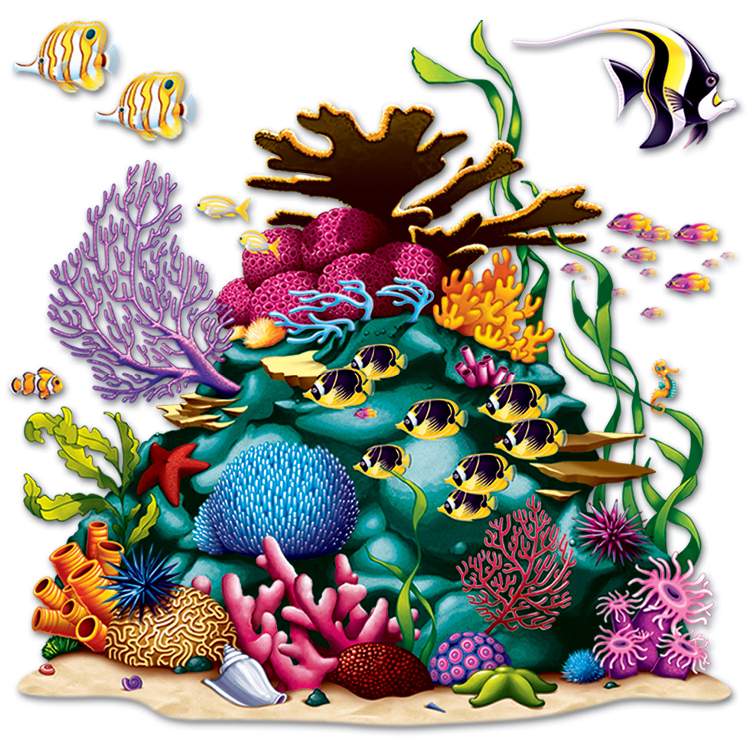 Classroom Hanging Decor ~ Under the sea coral reef prop