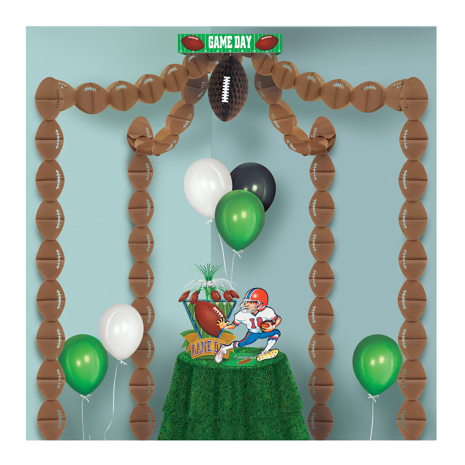 sc 1 st  Party Express & Inexpensive Sports Football Party Canopy