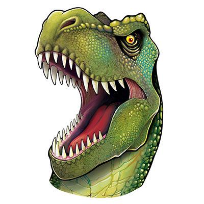 Jungle Dinosaur Head Cutout