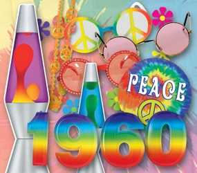 1960's era new year's eve party theme ideas image