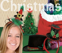 Christmas Hats & Headwear Image