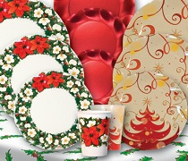 Christmas Tableware and Centerpieces Image