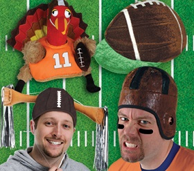 Football Hats and costume accessories