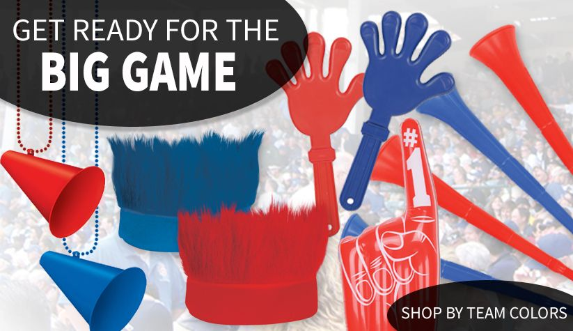 Football Party Supplies For the Big Game