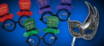 new year's eve glasses & masks category image