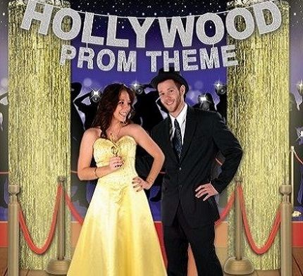 hollywood prom decorations
