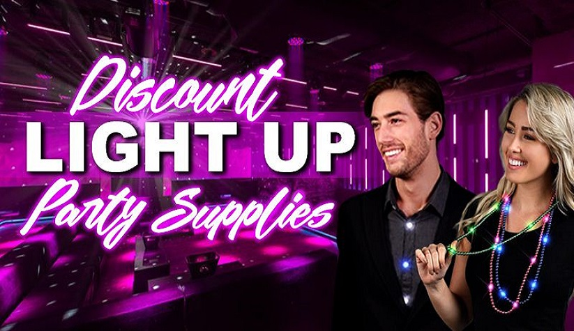 Wholesale Light Up Party Supplies