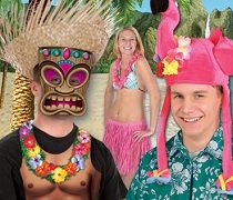 Bulk luau costume accessories