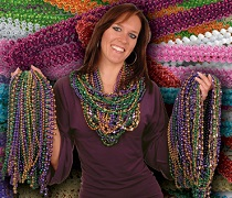 cheap mardi gras beads image