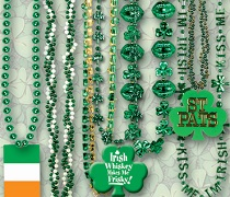 St. Patrick's Day Beads & Necklaces