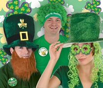 St. Patrick's Day Hats & Headwear