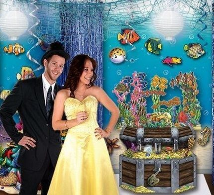 Under the Sea Prom Decorations