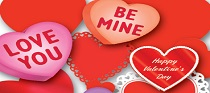 valentines day party supplies image
