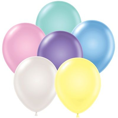 "11"" Pearl Balloons (Pack of 144) - SELECT A COLOR decoration, 11 inches, pearl, balloons, party, favor, new years eve, easter, inexpensive, wholesale, bulk"