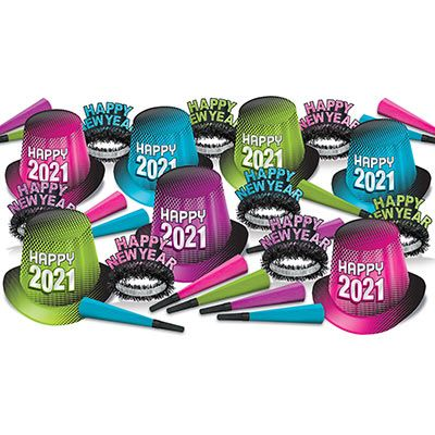 2021 New Year Assortment Party Kit for 50