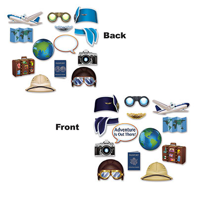 Around The World Photo Fun Signs (Pack of 156) Around the world, international, travel, vacation. pictures, photos, signs, fun