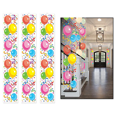 Colorful Balloon Party Panels