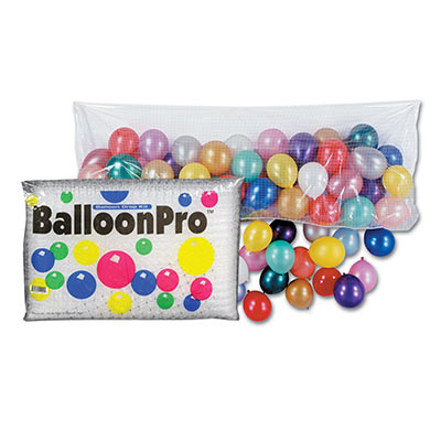 Balloon Pro Net 14 x 50 (1 Each)  balloon, pro, net, drop, new years eve, midnight, celebration, wholesale, inexpensive, bulk
