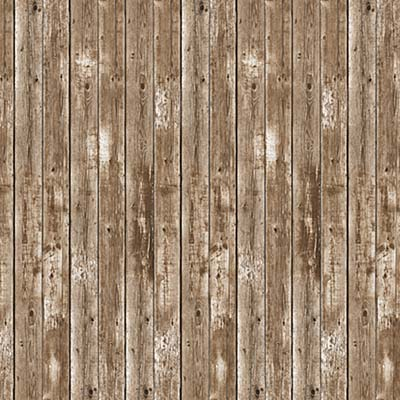 Barn Siding Backdrop printed on thin plastic material.
