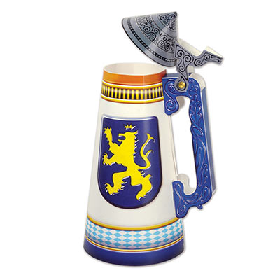 Beer Stein Centerpiece for Oktoberfest