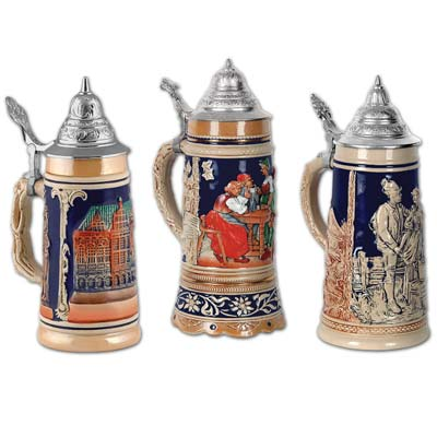 Beer Stein Cutouts wall decoration