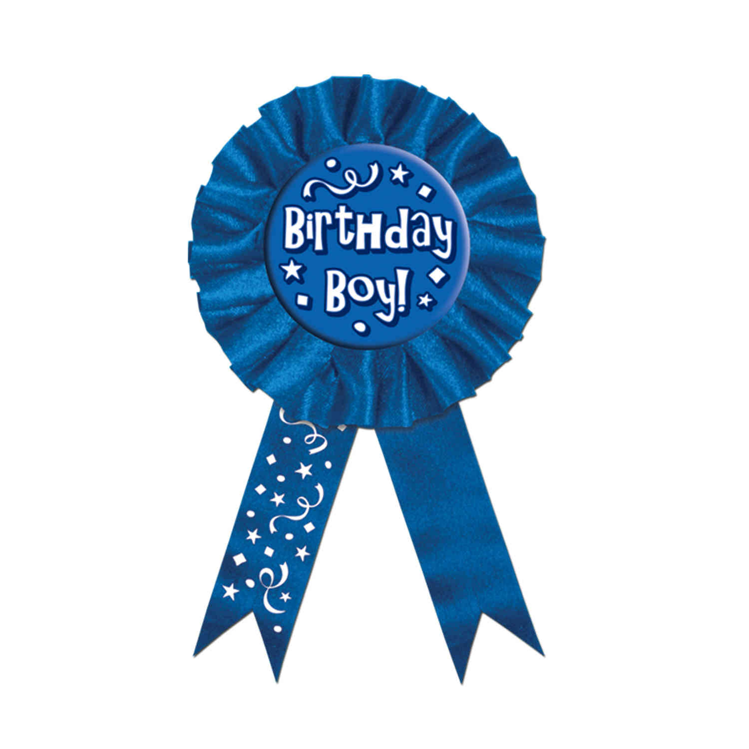 Birthday Boy! Award Ribbon (Pack 6) Blue Ribbon, Birthday accessories, Birthday idea, Birthday boy, Party ribbon, Wholesale party supplies, Bulk ribbons, Cheap birthday party supplies