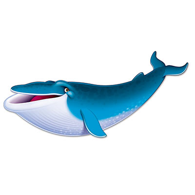 Blue Whale Cutout for a Themed Party