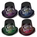 cheer to the new year party hats in assorted colors