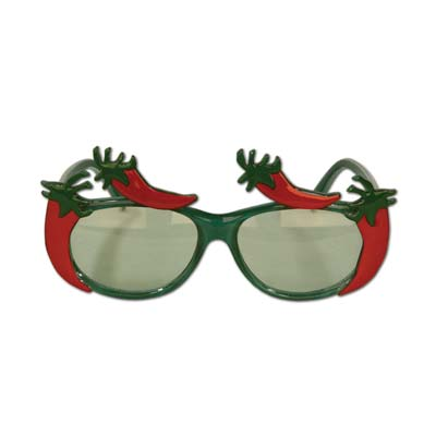 Plastic Chili Pepper Frames Eyeglasses