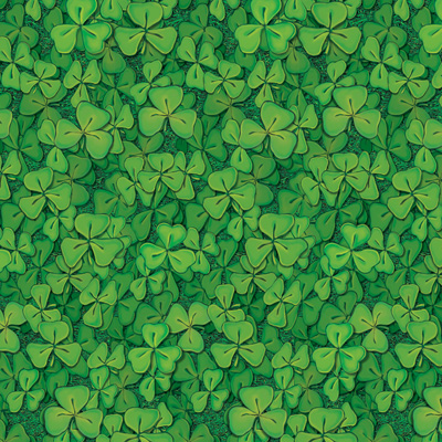 Clover Field Backdrop for St.Patricks Day Photos