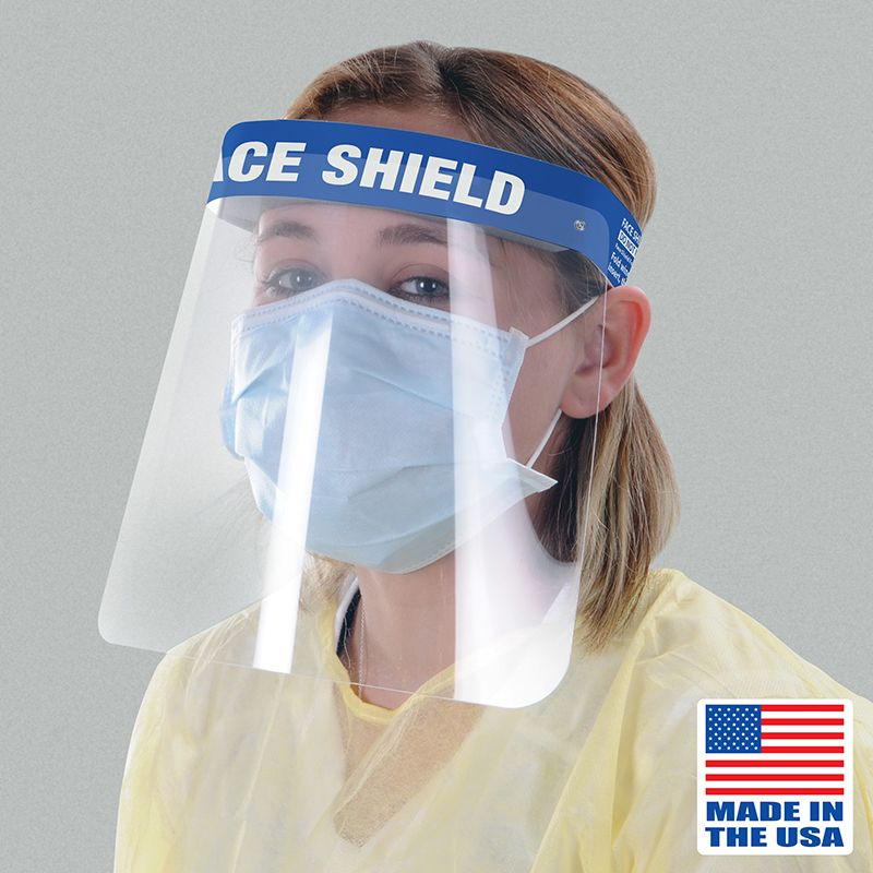Deluxe Face Shield (Pack of 50)