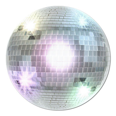 8 Disco Ball Paper Plates 1970/'s Dancing Hustle Reunion Birthday Party Event