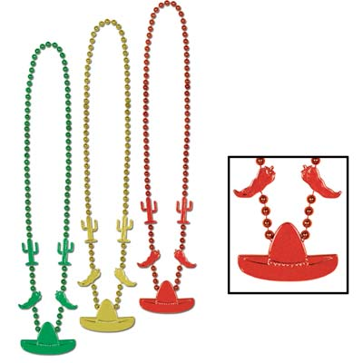 Red, Green and Yellow Fiesta Beads