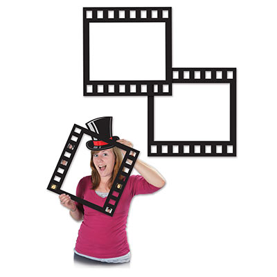Black Filmstrip Photo Fun Frames
